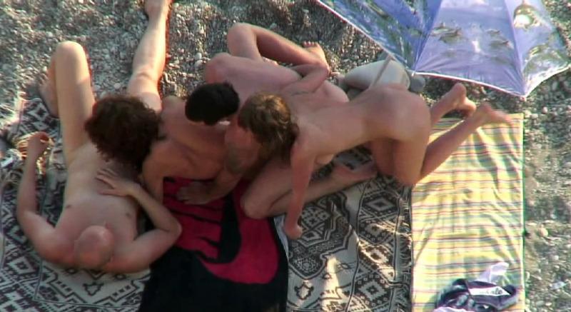 Свингерская групповуха, снятая на скрытую камеру