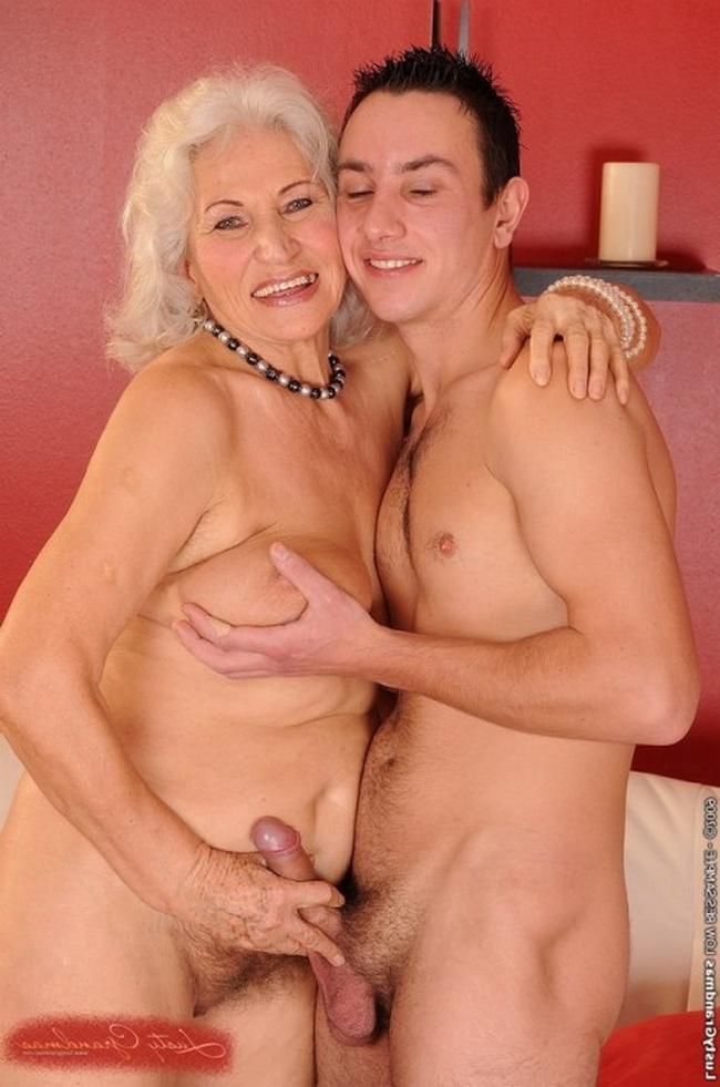 Жесткая ебля бабули с молодым парнем порно фото