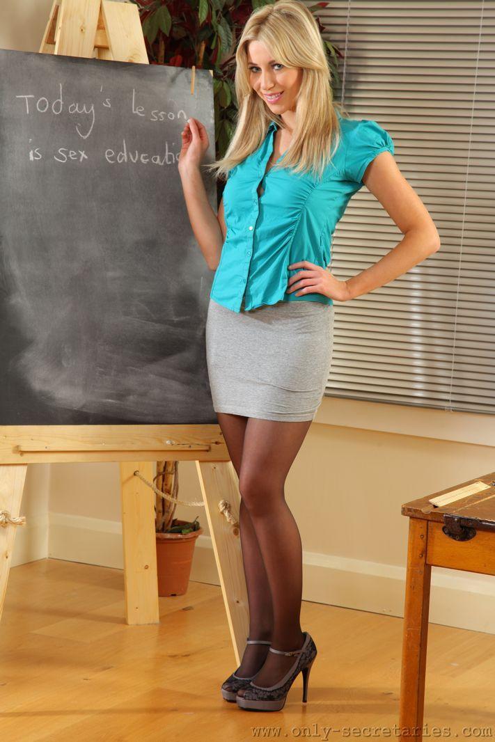 Учительница хочет ебли